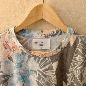 Sol Angeles Shirts - Sol Angels Men Shirts | Tees Short Sleeve | Size:S